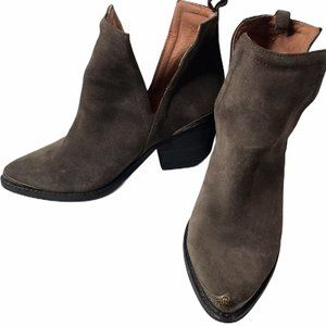 Jeffrey Campbell Cromwell Western Cut Out Bootie